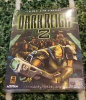 New Vintage Rare Dark Reign 2 RTS PC Big Box Collectors PC Video Game - Sealed