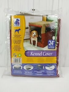 """Crate Indoor Outdoor 24"""" Cover Dog Pet Protection Cage Heavy Duty Kennel Cover"""