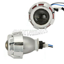 "3.5"" HEADLIGHT HID BI-XENON PROJECTOR LENS KIT WITH COB ANGEL DEMON EYES"
