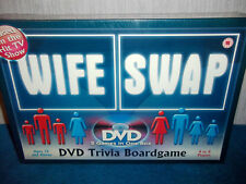 WIFE SWAP TV SHOW - 2 GAMES IN ONE BOX - DVD TRIVIA BOARD GAME - NEW & SEALED