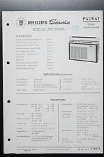 Philips p4d54t Colette Automatic de luxe Orig. Service-Guide/schéma! o35