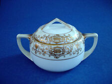 NORITAKE CHRISTMAS BALL SUGAR BOWL WITH LID  #16034
