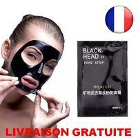 ★ Masque Naturel Minéraux Visage Soins Peau Acné Point Noir Black Purifying ★