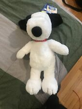 "Peanuts Snoopy 2015 17"" Build A Bear Workshop Stuffed Plush Retired BABW"