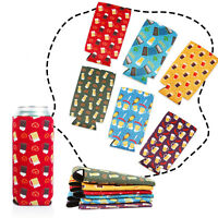 6x Lagute Thick Neoprene Beer Can Cooler Sleeves Coolies Coozie Koozie 500ml