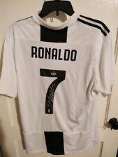 Cristiano Ronaldo Signed Juventus ADIDAS Jersey Auto BAS Beckett Witnessed
