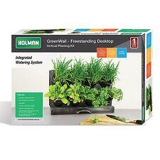 Holman GreenWall BENCHTOP VERTICAL GARDEN KIT Mobile & Detachable Pots*AUS Brand