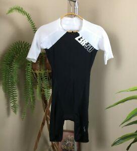 ZEROD TT SUIT ULTIMATE BLACK/WHITE