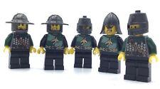 LEGO GREEN DRAGON KNIGHT MINIFIGURE CASTLE SOLDIER KINGDOMS FIG