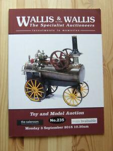 WALLIS & WALLIS TOY & MODEL AUCTION CATALOGUE - SEPTEMBER 2018