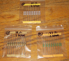 Lot of  30 Emitter Resistor / Power Resistor  .51 .82 and 10 ohms