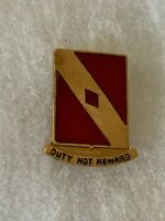 Authentic US Army 20th Field Artillery DI DUI Unit Crest Insignia Nh