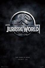 Jurassic Park movie poster - 11 x 17 inches - Jurassic World poster