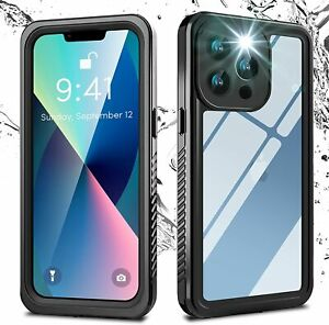 iPhone 13 Pro / Case Cover Waterproof Case 360° Full Sealed