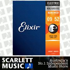Elixir Nanoweb 9-52 Super Light 7-String Electric Guitar Strings - 12007
