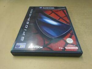 SpiderMan (Nintendo GameCube, 2002) - With Manual