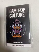 BAM! Box Pinback Darkwing Duck Tiki Enamel Pin Limited Release Volume 5 Box 3