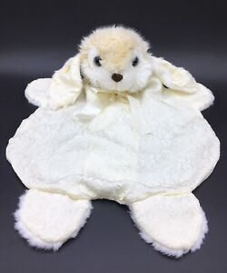Vintage White Bunny Rabbit Hot Water Bottle Cover Pyjama PJ Case Soft Toy