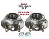 FOR ROVER 45 1.4 1.6 2.0 V6 iDT 2000-2005 NEW 2x REAR WHEEL BEARING KITS