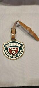 Vintage Medinah Country Club Metal Golf Bag Tag - Medinah, IL