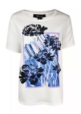 Style & Co. Women's Botanical Frame Print Scuba Blouse 2X