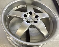 "Hamann Hm2 19 X8.5 ET13/19 X 10 ET 22 5:120 Silver Genuine Set Of 4 Wheels""new"""