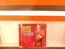 Bobby Darin Swings Music Audio CD