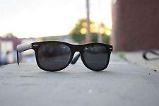 Men's Unbranded Polaraized Wayfarer Style Matte Black Sunglasses