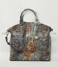 Brahmin Large Duxbury Cedar Melbourne Satchel Multi Crossbody Shoulder Bag