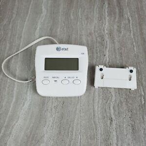 AT&T Model 326 Caller ID Clam Shell Color Windchill White - EUC