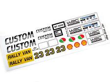 STICKERS for LEGO 5550 Custom Rally Van , Custom Builds, Models, etc. Very nice!