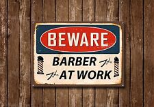 Barber Shop Sign, Metal Sign, Barber Shop Signs, Vintage Style, Barber Shop ,482