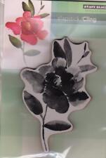 New Penny Black RUBBER STAMP Cling FLOWER RAVISHING  free USA shp