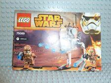 LEGO® Star Wars Bauanleitung 75089 Geonosis Trooper ungelocht BA Anleitung