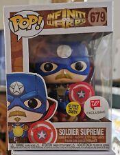 Funko Pop! - Infinity Warps Soldier Supreme #679 Glow Walgreens Exc + Protector