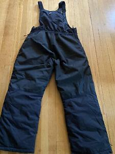 Ski-Doo BRP RPM Black Bib Snowmobile Snow Pants Men's XL