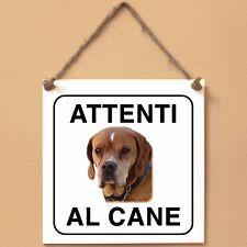 Perdigueiro Português 2 Attenti al cane Targa cane cartello ceramic tiles