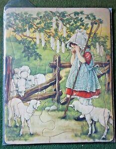 Platt & Munk   Vintage 1940,s?  Little Boo Peep  PUZZLE  C M Burd Artist VGood