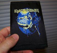 NEW Vintage 1992 IRON MAIDEN FEAR OF THE DARK LP Art Nylon Bi-Fold Music Wallet