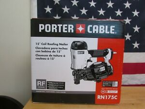 PORTER CABLE RN175C 15 Degree Coil Roofing Nailer (E10013535)