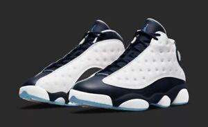 Air Jordan 13 Retro White Obsidian Blue GS New Size 7Y/8.5W DJ3003-144 CONFIRMED