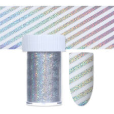 Holographic Nail Foil Decal Laser Ripple Net Manicure Nail Art Transfer Sticker