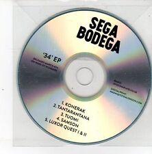 (DS515) Sega Bodega, 34 EP - 2013 DJ CD