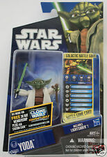 "YODA Jedi Master CW05 Hasbro Star Wars The Clone Wars 2010 3.75"" Action Figure"