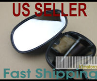 Black Mirrors Kymco Agility Vitality Super Sento People 50 125 150 250 Long Stem