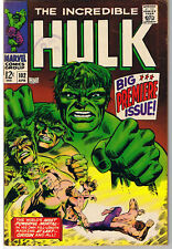 HULK #102, FN+/VF, Incredible, Origin, Tuska, 1968, more Hulk in store