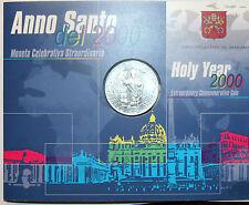 ITALIE VATICAN 2000 LIRE 2000 HOLY YEAR BU KM#313