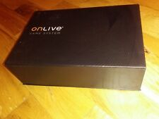 ONLIVE MICROCONSOLE TV ADAPTER GAMING SYSTEM NEW OPEN BOX