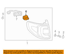 2013-2016 GMC  Acadia Taillight Tail Light Lamp Rear-Stop Lamp Bulb NEW 13582912