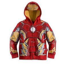 Sweats et vestes à capuche rouge pour garçon de 2 à 16 ans en 100% coton